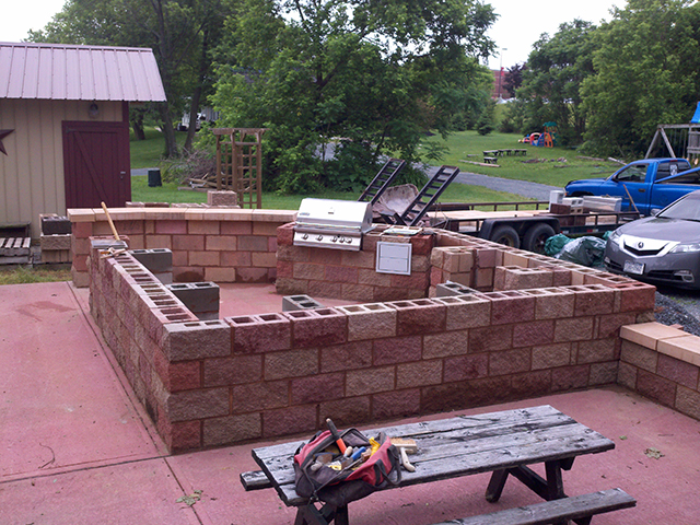 Residential Brick Laying