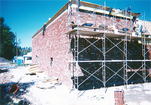 Commercial Brick Side